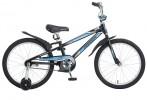 Велосипед 20' рама алюминий NOVATRACK DODGER черный 205 ADODGER.BK 5