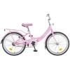 Велосипед 20' рама алюминий NOVATRACK GIRLISH Line белый 205 AGIRLISH.WT 5