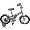 Велосипед NOVATRACK 12' DELFI серый/серебристый 124 DELFI.GR 5