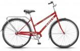 Велосипед 28' городской, рама женская STELS NAVIGATOR-300 LADY морская волна, 1 ск. 20'+ корзина Z01