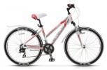 Велосипед STELS 26' рама женская, алюминий, MISS-6100 белый/серый/красный, 21 ск., 19,5'