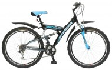 Велосипед STINGER 26' двухподвес, BANZAI синий, 16' 26 SFV.BANZAI.16 BL8