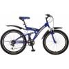 Велосипед STINGER 26' двухподвес, BANZAI синий, 18 ск., 20' 26 SFV.BANZAI.20 BL 6