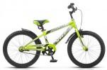 Велосипед 20' хардтейл STELS PILOT-200 Gent неон/зеленый, 1 ск.
