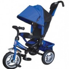 Велосипед 3х-колесный Formula-3 12'/10',своб. ход перед. колеса,тормоз,накл. спин.,сумка,синий FA3B