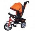 Велосипед 3х-колесный Formula-3 12'/10', свобод. ход перед. колеса, тормоз, накл. спин., сумка, FA3O