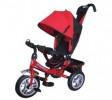 Велосипед 3х-колесный Formula-3 12'/10',своб. ход перед. колеса,тормоз,накл.спин.,сумка,красный FA3R