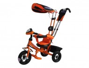 Велосипед 3х-колесный CITY TL1 O 10'/8', плоск. кр., фара св./зв. эф., сид. с высок.спин.,защ.тент