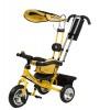 Велосипед 3х-колесный CITY TL1 Y 10'/8', плоск. кр., фара св./зв. эф., сид. с высок.спин.,защ.тент