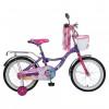 Велосипед NOVATRACK 20' LITTLE GIRLZZ фиолетовый 207 GIRLZZ.PN 6