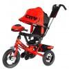 Велосипед 3х-колесный CITY JP 7 PR 10'/8', фара св./зв. эф., св. ход колеса