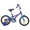 Велосипед NOVATRACK 12' DELFI синий/голубой 124 DELFI.BL 5+ корзина