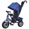 Велосипед 3х-колесный Formula-3 12'/10', своб. ход пер. колеса, тормоз, накл.спин.,сумка, фиол. FA3V