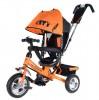 Велосипед 3х-колесный CITY JW 7 OS 10'/8', звонок, оранжевый