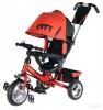 Велосипед 3х-колесный CITY JD 7 R2 10'/8', звонок, красный
