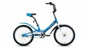 Велосипед FORWARD 20' SCORPIONS 1.0 синий RBKW75N01003