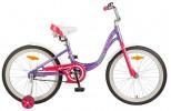 Велосипед NOVATRACK 20' рама алюминий ANGEL фиолетовый 205 AANGEL.VL 7