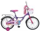 Велосипед NOVATRACK 16' LITTLE GIRLZZ фиолетовый 167 GIRLZZ.PN 6