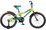 Велосипед 20' рама алюминий NOVATRACK CRON, зеленый 205 ACRON.GN 7