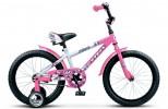 Велосипед 18' STELS PILOT-160 белый/розовый