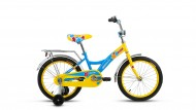 Велосипед ALTAIR 18' рама женская, ALTAIR CITY GIRL желтый/синий RBKT74NH1003