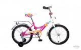 Велосипед ALTAIR 18' рама женская, ALTAIR CITY GIRL белый/фуксия RBKT74NH1002