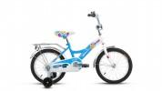 Велосипед ALTAIR 14' рама женская ALTAIR CITY GIRL белый/синий RBKT74NFH1003