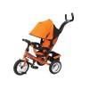 Велосипед 3х-колесный TOYS P2O 12'/10',наклон. спинка, оранжевый