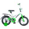 Велосипед NOVATRACK 12' STRIKE белый-зеленый 123 STRIKE.WTG 8