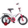 Велосипед NOVATRACK 12' STRIKE белый-красный 123 STRIKE.WTR 8