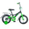 Велосипед NOVATRACK 12' STRIKE черный-зеленый 123 STRIKE.BKG 8