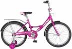 Велосипед 20' NOVATRACK VECTOR фиолетовый 203 VECTOR.VL 8