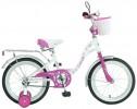 Велосипед NOVATRACK 16' BUTTERFLY белый-розовый 167 BUTTERFLY.WPR 7
