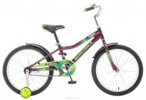 Велосипед 20' рама алюминий NOVATRACK CRON бордовый 205 ACRON.PN 5 (19)