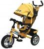 Велосипед 3х-колесный PILOT 12'/10' тормоз, накл. спин., сумка, желтый PTA3Y