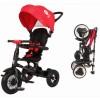 Велосипед 3х-колесный складной RITO Q Play 10'/8' св. ход колеса и руля,накл. спинка,красный QA6R