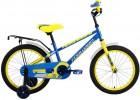 Велосипед FORWARD 18' METEOR синий/желтый RBKW7LNH1006