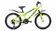 Велосипед ALTAIR 20' ALTAIR MTB HT 20 2.0 желтый/зеленый, 6 ск., 10,5' RBKN81N06004
