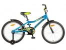 Велосипед 20' рама алюминий NOVATRACK CRON, синий 205 ACRON.BL 7