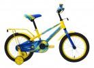 Велосипед FORWARD 16' METEOR синий/желтый RBKW8LNG1007