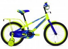 Велосипед 18' FORWARD METEOR голубой/зеленый RBKW8LNH1006 (19-З)