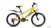 Велосипед 20' хардтейл FORWARD UNIT 2.0 мат. Желтый, 6 ск., 10,5' RBKW8JN06012 (18)
