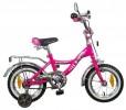 Велосипед 12' NOVATRACK S BAGIRA тормоз V-brake, розовый 127 BAGIRA.PN 5
