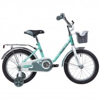 Велосипед 14' NOVATRACK MAPLE серо-зеленый 144 MAPLE.GR 9