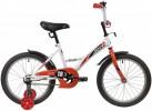 Велосипед 18' NOVATRACK STRIKE белый-красный 183 STRIKE.WTR 20