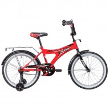Велосипед 20' NOVATRACK TURBO красный 207 TURBO.RD 9