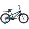 Велосипед 20' рама алюминий NOVATRACK DODGER черный 205 ADODGER.BK 9