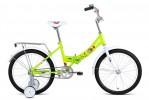 Велосипед 20' складной ALTAIR CITY KIDS 20 compact зеленый, 13' 2018-2019 RBKN95F01002