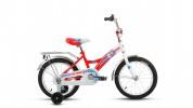 Велосипед 18' ALTAIR CITY BOY белый/красный