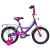 Велосипед 14' NOVATRACK VECTOR лиловый 143 VECTOR.LC 20